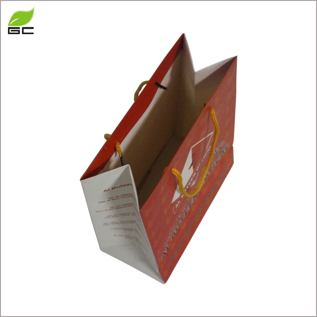 New Style Loyal Heart Mini Happy Birthday Party Gift Coated Paper Bag