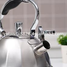 New promotion 2017 hot style Stainless steel 3L single bottom 3L modern tea kettle