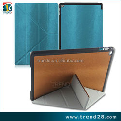 alibaba express protective stand folding leather case for ipad air2