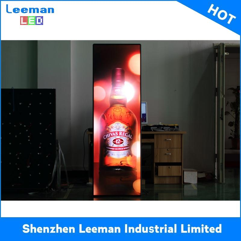 outdoor scrolling advertising light box led crystal order menu display
