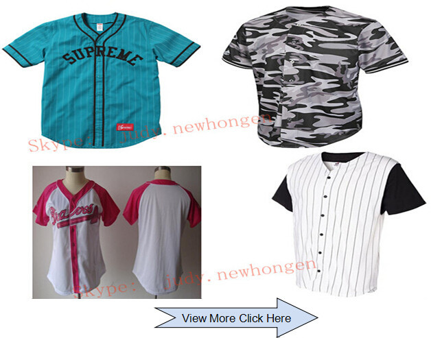 Custom sublimated college baseball apparel