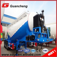 Bulk Cement Powder Tanker Transport Carrier