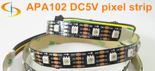 APA102 color changing Led rgb 5050 Strip WS2812B DC5V