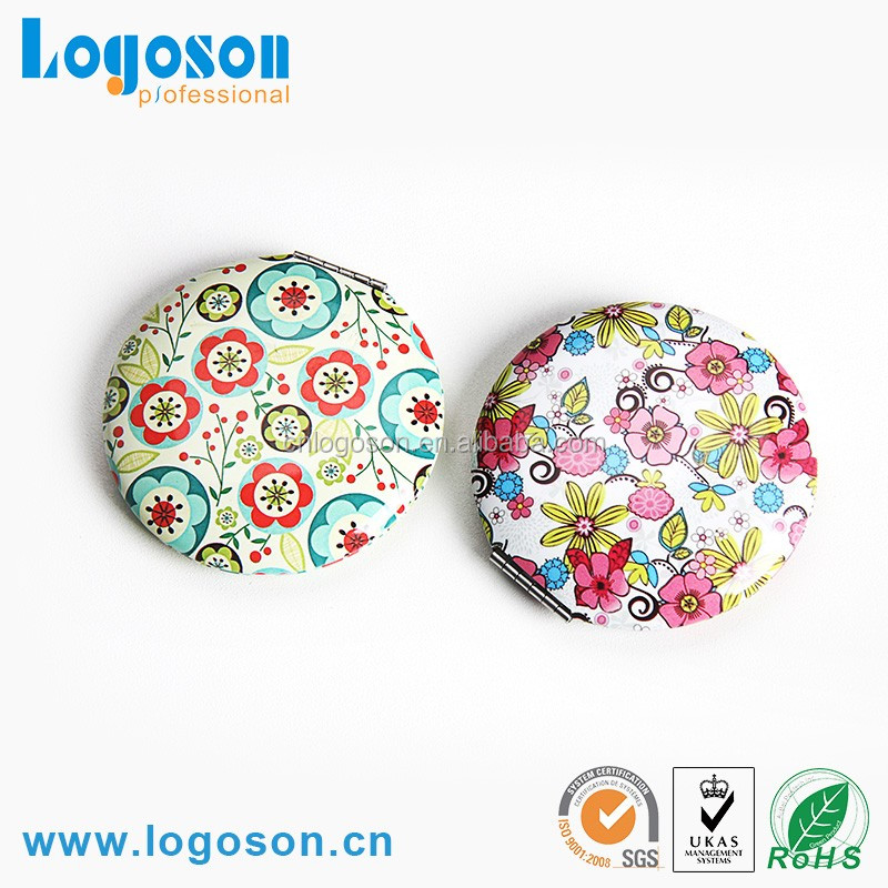 Customized logo hand mirror, Souvenir Compact Mirror