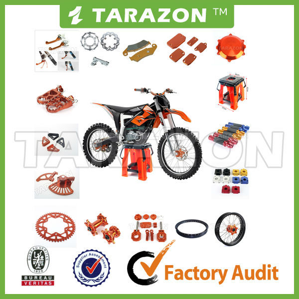 TARAZON brand high quality KTM SXF 250 parts for motocross