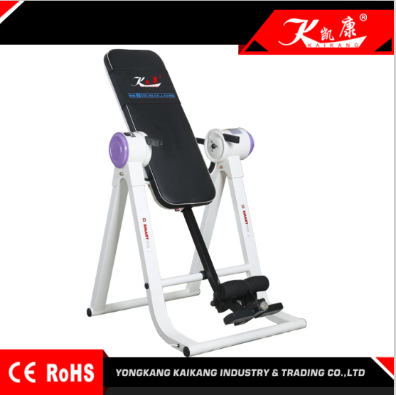 Electric convenient Inversion Table sports fitness equipment china