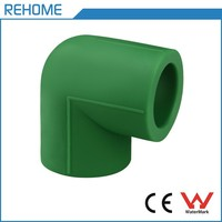 Flexible PPR Pipes Fittings Water Supply Tube Swivel 90 Degree Elbow