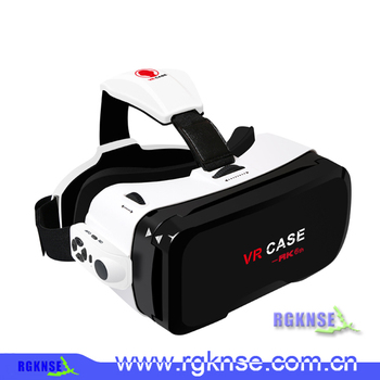 2016 Newest 3D VR CASE 6th Virtual Reality Headset 3D Movie, 3D VR Glasses