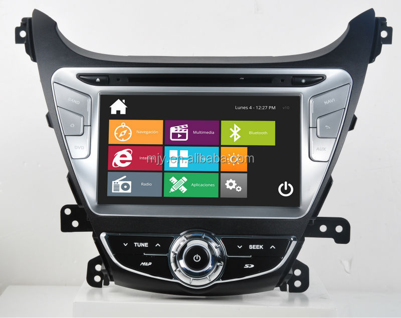 Special CAR DVD for Hyundai Elantra 2014