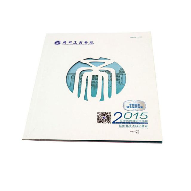 professional custom A4 perfect binding instruction book printing