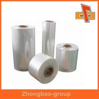 Strong transparent protective PE plastic film roll for food industrial packing manufacturer