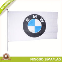 Professional manufacture factory directly usa country car flags with plastic pole