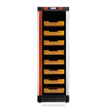 2017 made in china temperature and humidity controlled electrical cabinet cigar humidor in hot-selling