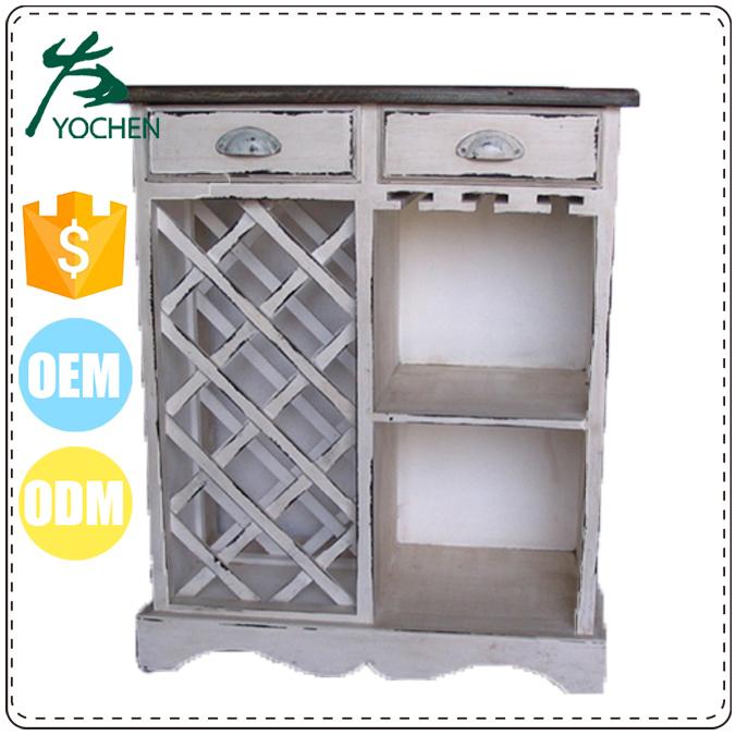 China Solid Wood Bar Liquor Cabinet Cheap Storage Display