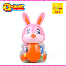 2015 Cheap Baby Rattles animal bottle funny baby noise making toys