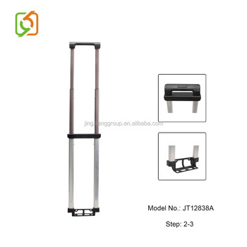 professional inside aluminum telescopic trolley handle for luggage bag