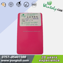Pink color metallic use epoxy resin powder coating