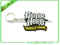 soft pvc key chain 3d rubber promotional gifts custom keychain