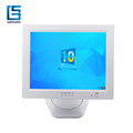White Color 12 Inch Touch Screen Monitors 12V LCD Computer Monitor TM1220