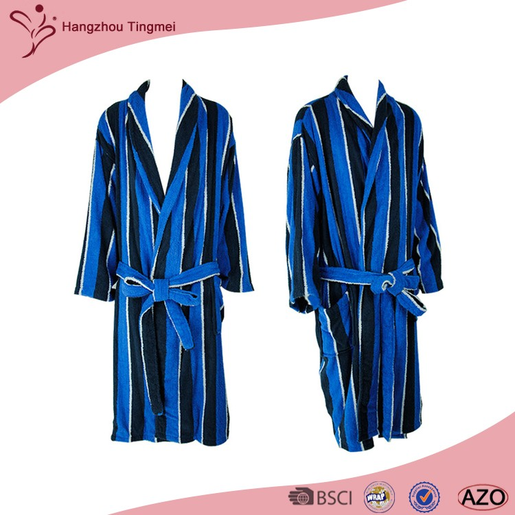 Wholesale Factory Low Price OEM Printed Night Gowns For Men