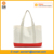wholesale women canvas handbag cotton canvas shopping tote bag