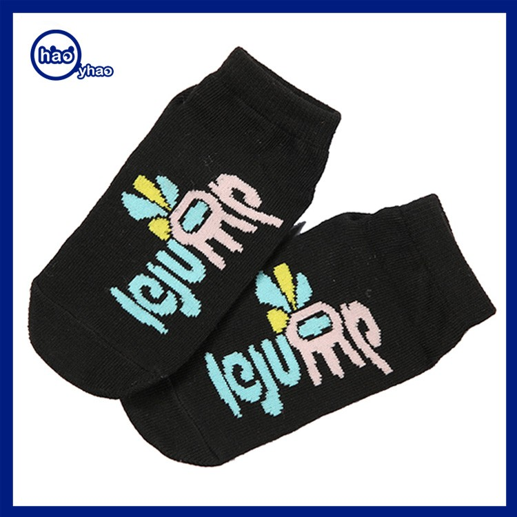 2017 Yhao pantone colors low cut slipper women cute yoga pliate socks young gilr ballet socks