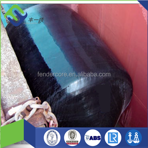 With tyres and chains Foam Filled EVA Polyurethane Floating marine Ship Fenders for Boats dock