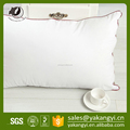 White Cotton Fabric High Quality Polycotton Filling Pillow for Five Star Hotel