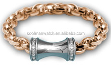 2014 friendship bracelets, high quality stainless steel bracelet jewelry with cz CMSTB-2014-114