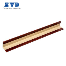 High quality decorative WPC inside corner plastic trim moulding