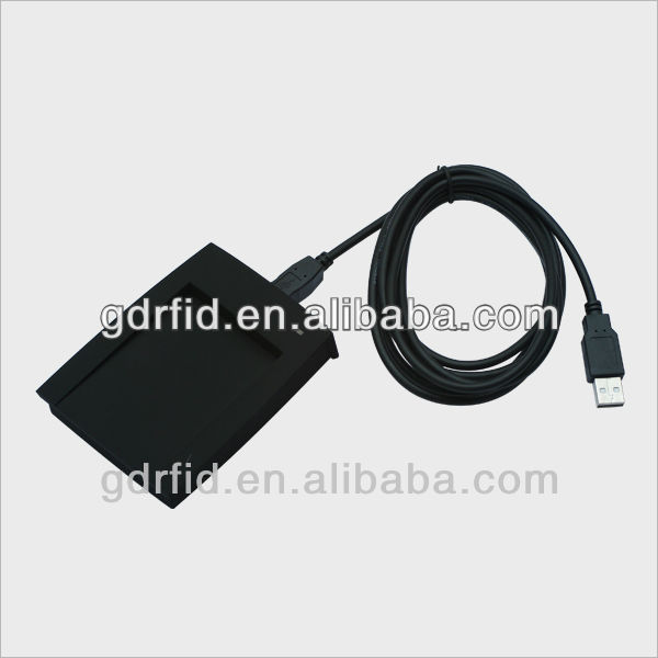 Mango Single USB HF RFID Keyboard port IC card reader(TK9013 )