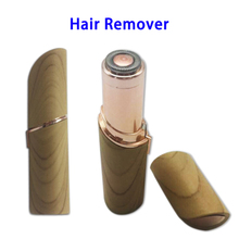 High Quality Wooden Women Painless Facial Best Hair Remover with LED Light