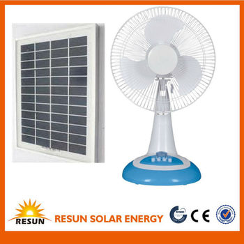 cheap price solar rechargeable fan rechargeable emergency electric fan