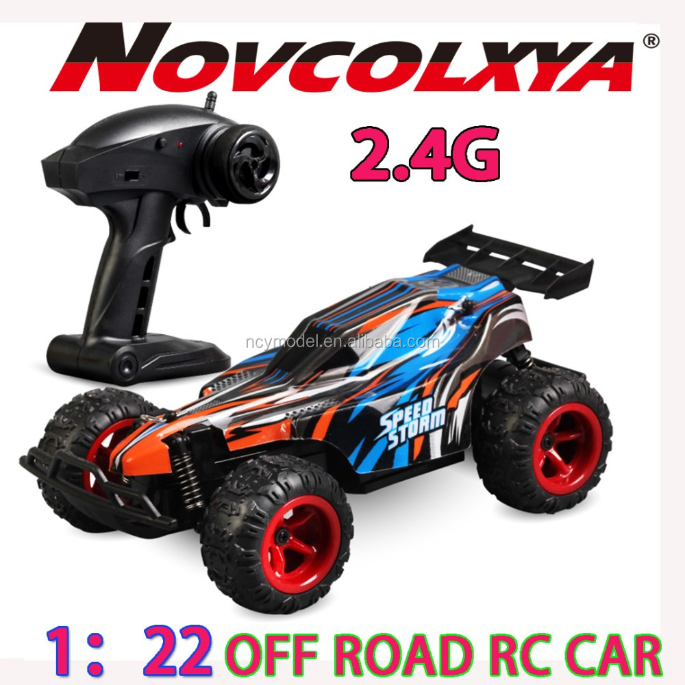 Electric RC Car Off-road Remote Control Car 1:22 Scale 2.4Ghz High speed