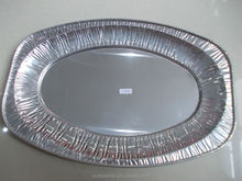 Hot selling E-CO Friendly low price high quality big turkey aluminum foil tray