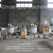 Dairy Factory Fresh Milk Processing Machine , Milk Pasteurizer Machine