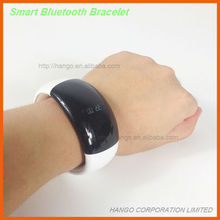 2014 New Smart Bluetooth Bracelet With Vibration SMS/Pedometer/Counting Calorie/Music Play