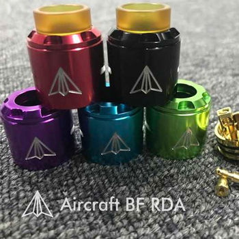 China supplier wholesale new e ciggarett hotcig aircraft bf rda atomizer