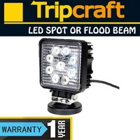 Super Bright 4 Inch 1680LM Epistar Offroad Work Light 27w Waterproof Led Work Light