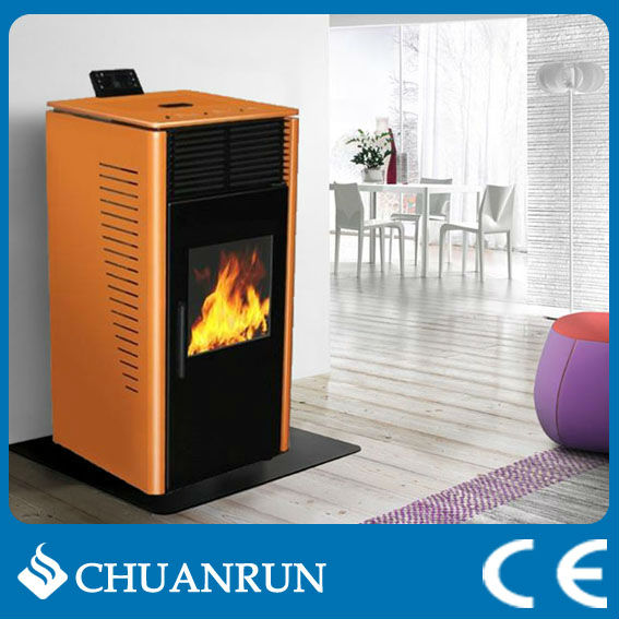 Italian style Biomass Wood Burning Pellet Stove / Fireplace/Estufas with CE,RoHS(CR-07)