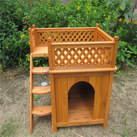 wholesale beautiful large wood dog house