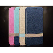 Flip PU Leather Cover Case Customized Mobile Phone Wallet Card Holder Case For Lenovo K800
