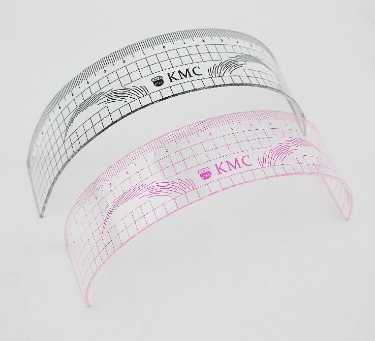 New Arrival Acrylic Eyebrow Ruler Permanent Makeup Accessories