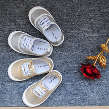 comely flat Casual shoes sole for children Made in China canvas shoes