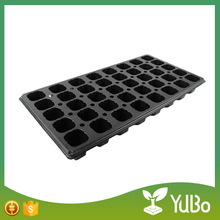 50 72 98 105 128 200 288 Cells PS Plastic Plug Seed Starting Grow Germination Tray for Greenhouse Vegetables Nursery
