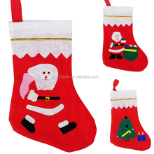 Christmas stocking 35CM gift bags snowman tree Christmas goodie bags