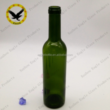 empty 375ml 750ml 25oz antique green liquor glass red wine bottle