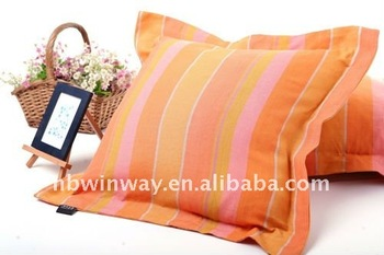 100% linen yarn dyed cushion cover