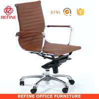 modern chrome executive swivel types of chairs pictures in office chairs RF-S075B