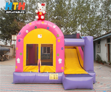 2017 high quality hello Kitty inflatable bouncy castle